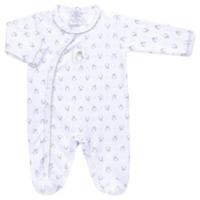 Imagem 1 do produto Macacão longo para bebe em algodão egípcio Penguin - Piu-Piu - PIU912025.001 MACACÃO COMP. PINGUIM -M