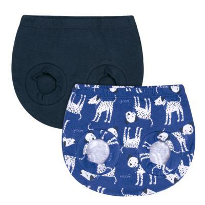 Imagem 1 do produto Pack Dalmatians Blue: 02 Cobre Fraldas em high comfort  - Vicky Lipe - 10220001.37 PACK 2 COBRE FRALDAS - SUEDINE-P