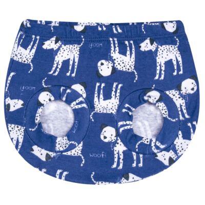 Imagem 2 do produto Pack Dalmatians Blue: 02 Cobre Fraldas em high comfort  - Vicky Lipe - 10220001.37 PACK 2 COBRE FRALDAS - SUEDINE-M