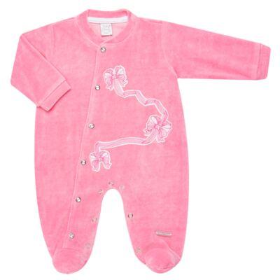 Imagem 1 do produto Macacão longo para bebe em plush Lacitos - Baby Classic