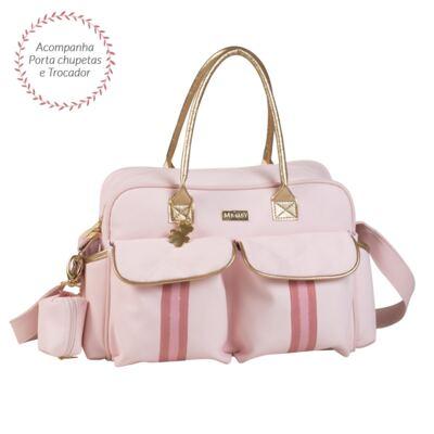 Imagem 1 do produto Bolsa para bebe Nice Sweet Rosa - Masterbag