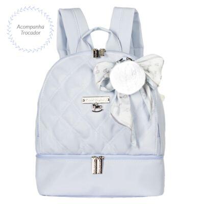 Imagem 5 do produto Mala maternidade com Rodízio + Bolsa Anne + Bolsa térmica organizadora + Mochila Soldadinho Azul - Masterbag