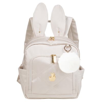 Imagem 3 do produto Bolsa para bebe Anne + Mochila Bunny Classic Off White - Masterbag