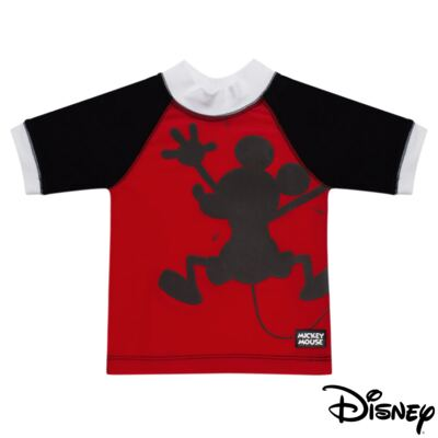 Camiseta Surfista em lycra Mickey FPS 50 - Disney by Fefa - 390.00.1205 CAM SURF MICKEY ESCONDIDO UNICA -G