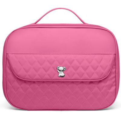 Imagem 2 do produto Kit Mala Maternidade para bebe + Bolsa Havana + Frasqueira Térmica Aruba + Kit Acessórios + Trocador Portátil Colors Pink - Classic for Baby Bags