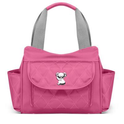 Imagem 4 do produto Kit Mala Maternidade para bebe + Bolsa Havana + Frasqueira Térmica Aruba + Kit Acessórios + Trocador Portátil Colors Pink - Classic for Baby Bags