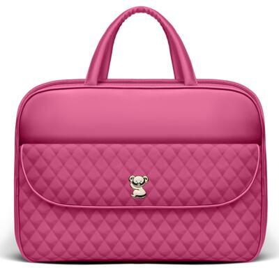Imagem 2 do produto Kit Mala Maternidade para bebe + Frasqueira Térmica Guadalupe + Trocador Portátil Colors Pink - Classic for Baby Bags