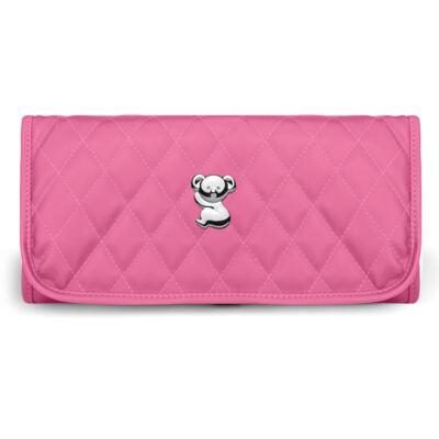 Imagem 4 do produto Kit Mala Maternidade para bebe + Frasqueira Térmica Guadalupe + Trocador Portátil Colors Pink - Classic for Baby Bags