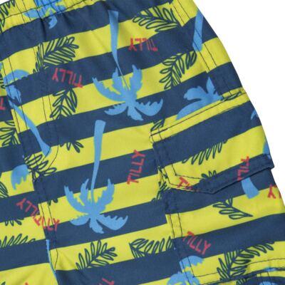 Imagem 5 do produto Camiseta c/ Bermuda em malha Maverick - Tilly Baby - TB166303 CONJ MASC TACTEL COQUEIROS-P