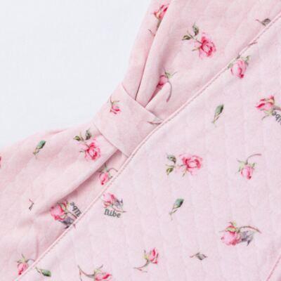 Imagem 7 do produto Jogo Maternidade com Macacão e Manta em algodão egípcio Flora - Bibe - 39Z06-G78 CJ MATERNIDADE FLORES-RN