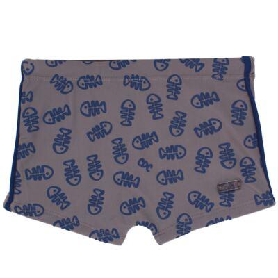 Imagem 3 do produto Conjunto de Banho para bebe Tuba: Chapéu + Sunga - Cara de Criança - KIT 1 2571 SBB2571+CH2571-G
