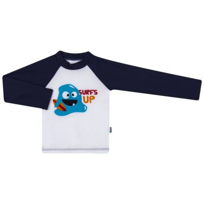 Imagem 1 do produto Camiseta para bebe em lycra Monstrinhos - Puket