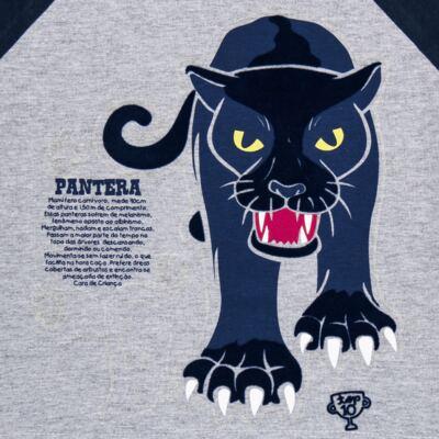 Imagem 4 do produto Pijama longo que Brilha no Escuro Panther - Cara de Criança - L2289 PANTERA L PJ LONGO M/MALHA -1