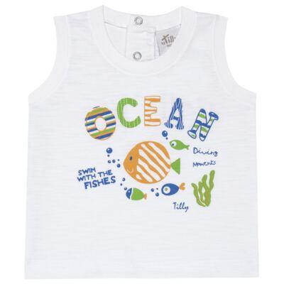 Imagem 2 do produto Regata c/ Bermuda em tactel Ocean - Tilly Baby - TB166308 CONJ MASC TACTEL OCEAN -3