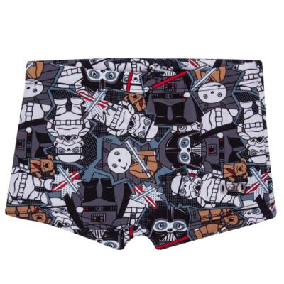 Imagem 6 do produto Conjunto de Banho Biel Vader: Roupão + Sunga - Cara de Criança - KIT 1 2917: SB2917+RO2917 SUNGA VIEL DAS ESTRELAS + ROUPAO-3