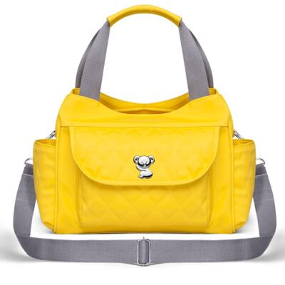 Imagem 2 do produto Kit Bolsa Havana + Frasqueira Térmica Guadalupe Yellow - Classic for Baby Bags