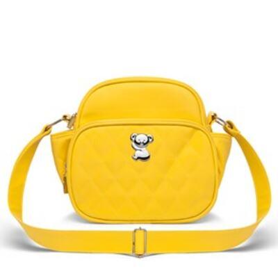 Imagem 3 do produto Kit Bolsa Havana + Frasqueira Térmica Guadalupe Yellow - Classic for Baby Bags