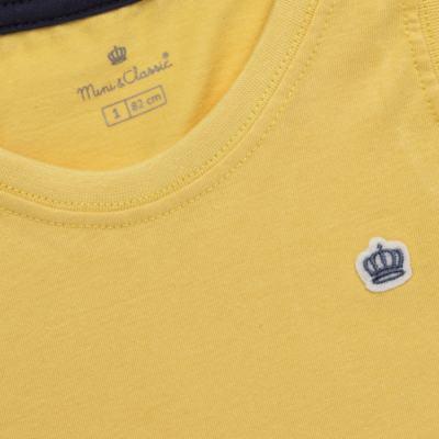 Imagem 2 do produto Regata em malha Amarela - Mini & Classic - 9501672 REGATA MALHA AMARELA-3