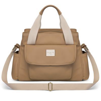Imagem 2 do produto Bolsa maternidade para bebe St Remi + Frasqueira Térmica Provence Nácar Caramel - Classic for Baby Bags