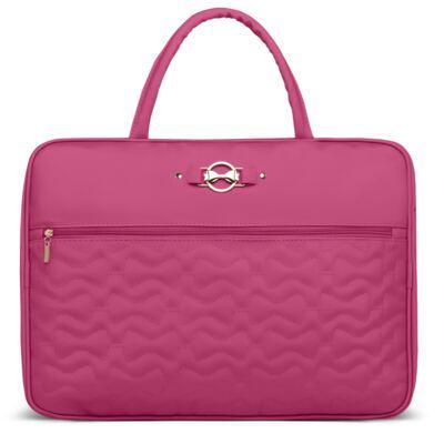 Imagem 2 do produto Mala Maternidade para bebe + Bolsa Liverpool + Frasqueira Térmica Melrose + Térmica Firenze + Trocador Laços Matelassê Pink - Classic for Baby Bags