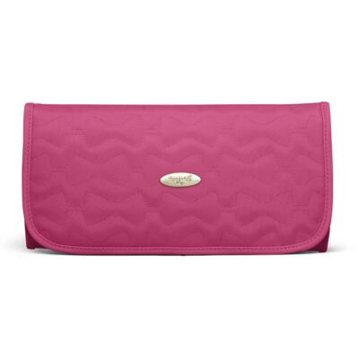 Imagem 6 do produto Mala Maternidade para bebe + Bolsa Liverpool + Frasqueira Térmica Melrose + Térmica Firenze + Trocador Laços Matelassê Pink - Classic for Baby Bags