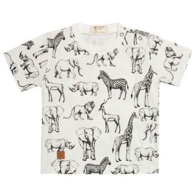 Imagem 2 do produto Camiseta com Bermuda em fleece Safari - Petit