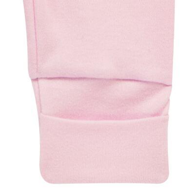Imagem 5 do produto Pack 2 mijões com pé reversível para bebe em algodão egípcio c/ jato de cerâmica Princess Bear - Mini & Classic - 1025655 PACK 2 MIJOES SUEDINE URSA -P