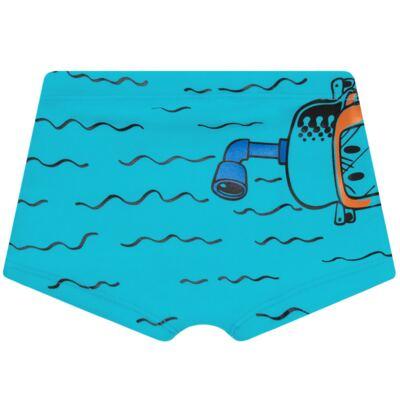 Imagem 5 do produto Conjunto de Banho Maluquinho Mergulhador: Camiseta + Sunga - Cara de Criança - KIT1-1308: SB1308 SUNGA + CCA1308 CAMISETA PIRATA MALUQUINHO-1