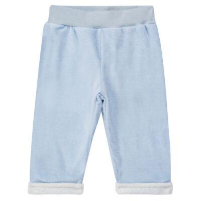 Imagem 1 do produto Calça para bebe em Plush & Pelúcia Azul - Petit