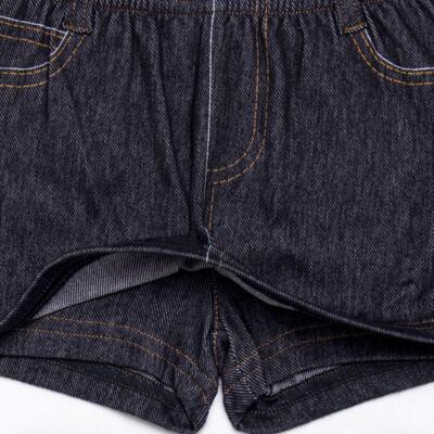Imagem 3 do produto Shorts Saia para bebe em fleece Jeanswear - Bibe - 10P11-208 SH FEM LOEIL PEQ-M