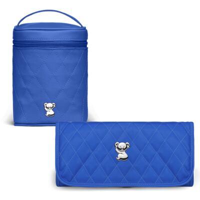 Imagem 1 do produto Trocador Portátil + Frasqueira Térmica Firenze Colors Klein - Classic for Baby Bags