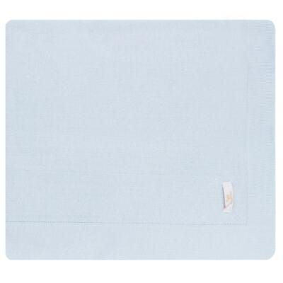Imagem 5 do produto Jogo Maternidade com Macacão e Manta em tricot Bleu - Petit - 47104420 Jogo Maternidade c/ Gola Tricot/Fus Azul -P