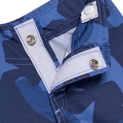 Imagem 5 do produto Camiseta com Bermuda em tactel Shark - Cara de Criança - KIT 1 2311 CCA+BT TUBARAO-1