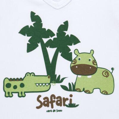 Imagem 3 do produto Pijama longo em malha Safari - Cara de Sono - L2456 SAFARI L PJ-LONGO M/MALHA-1
