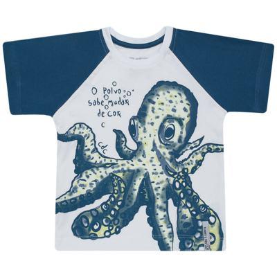 Imagem 1 do produto Camiseta que muda de cor no sol Polvo - CDC T-Shirt - CMC1406-POLVO CMC CDC MASCULINA MG CURTA-4