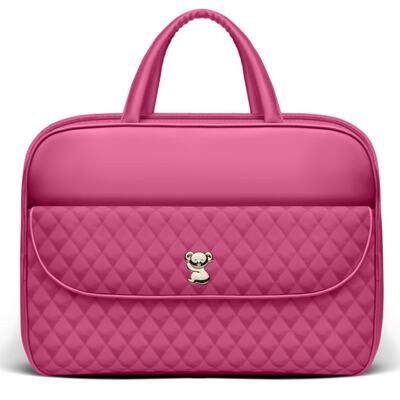 Imagem 2 do produto Kit Mala Maternidade para bebe + Kit Acessórios Colors Pink - Classic for Baby Bags