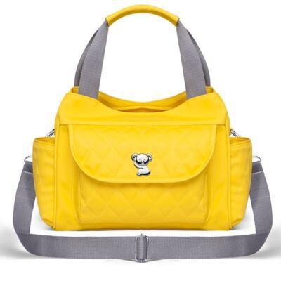 Imagem 2 do produto Kit Bolsa maternidade para bebe Havana + Trocador Portátil Colors Yellow - Classic for Baby Bags