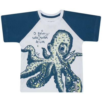 Imagem 1 do produto Camiseta que muda de cor no sol Polvo - CDC T-Shirt - CMC1406-POLVO CMC CDC MASCULINA MG CURTA-2
