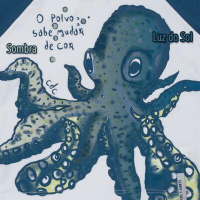 Imagem 3 do produto Camiseta que muda de cor no sol Polvo - CDC T-Shirt - CMC1406-POLVO CMC CDC MASCULINA MG CURTA-2