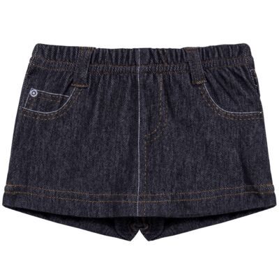 Imagem 1 do produto Shorts Saia para bebe em fleece Jeanswear - Bibe - 10P11-208 SH FEM LOEIL PEQ-P
