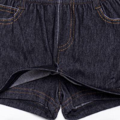 Imagem 3 do produto Shorts Saia para bebe em fleece Jeanswear - Bibe - 10P11-208 SH FEM LOEIL PEQ-P