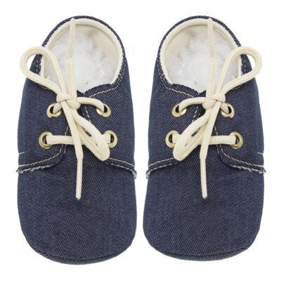 Imagem 1 do produto Mocassim para bebe Jeans - Roana - 16040010493 MOCASSIM JEANS-RN