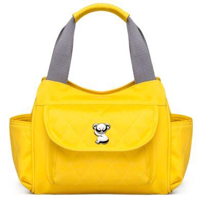 Imagem 4 do produto Kit Mala Maternidade para bebe + Bolsa Havana + Frasqueira Térmica Aruba + Trocador Portátil Colors Yellow - Classic for Baby Bags