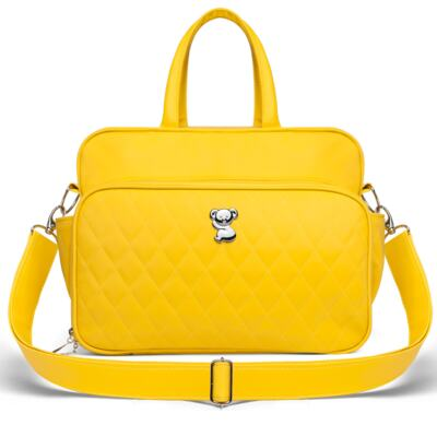 Imagem 3 do produto Kit Mala Maternidade + Bolsa Montserrat + Frasqueira Térmica St. Marteen Colors Yellow - Classic for Baby Bags