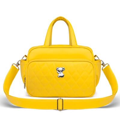Imagem 4 do produto Kit Mala Maternidade + Bolsa Montserrat + Frasqueira Térmica St. Marteen Colors Yellow - Classic for Baby Bags