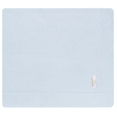 Imagem 5 do produto Jogo Maternidade com Macacão e Manta em tricot Bleu - Petit - 47104420 Jogo Maternidade c/ Gola Tricot/Fus Azul -RN