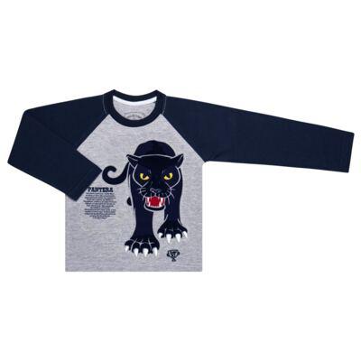 Imagem 2 do produto Pijama longo que Brilha no Escuro Panther - Cara de Criança - L2289 PANTERA L PJ LONGO M/MALHA -3