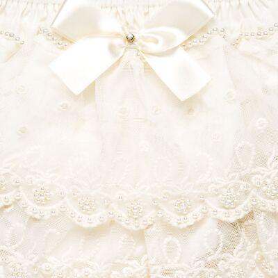 Imagem 3 do produto Calcinha em tricoline Renda & Pérolas Marfim - Roana - CLLU0005031 Calcinha Detalhe Luxo Renda Marfim-P