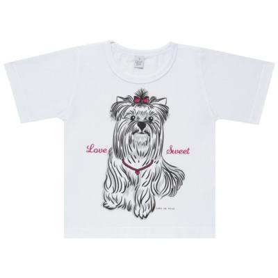 Imagem 2 do produto Pijama Curto em malha Cachorrinha - Cara de Sono - C2005 DOG LOVE C PJ-MG CURTA C/CALCA M/MALHA-3