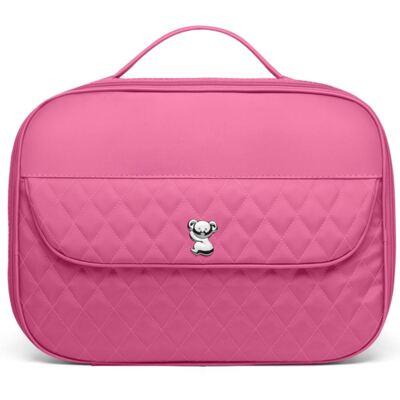 Imagem 2 do produto Kit Mala maternidade para bebe + Bolsa Viagem + Frasqueira Térmica + Necessaire Colors Pink - Classic for Baby Bags